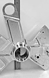 CNC Turning & High Speed Milling of Aluminum Helicopter Component for the Aerospace Industry